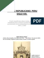 4.Arte Republicano. Peru Siglo Xix.