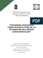 Estimación del riesgo cardiovascular
