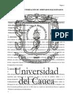 Práctica v Prueba de Caracterización de Derivados Halogenados