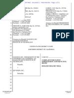 Nanosys Patent Infringement Lawsuit Against QD Vision