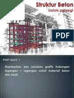 Struktur Beton 2 - Balok Persegi