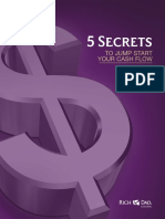 5 Secrets to Jump Start Your Cash Flow