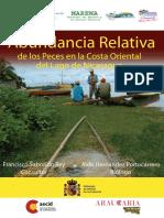 Abundancia Peces Lago Nicaragua