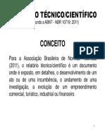 Relatorio Tecnico Cientifico PFRH Aluno