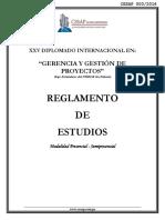 Reglamento Geipo Xxv Presencial - Semipresencial