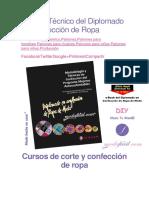 Manual Técnico Del Diplomado en Confección de Ropa