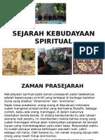 Sejarah Kebudayaan Spiritual