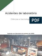 Acidentes de Laboratório 3