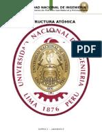 Estructura atómica- laboratorioUNI