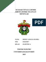 Paper Dasar Tenaga Listrik Distribusi Listrik Tegangan Menengah