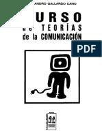Gallardo Cano Alejandro - Curso de Teorias de La Comunicacion (Cv)