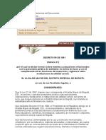 Alcalda Bt Ongs Decreto 59 de 1991