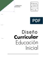 Diseño Curricular Nivel Inicial
