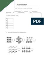 Evaluacion de Matematicas 1
