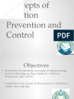 Concepts of Infection Prevention and Control