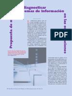 Propuesta de Modelo Para Diagnosticar Sistemas de Informacion en Las Organizacion.