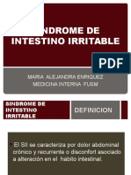 SINDROME COLON IRRITABLE