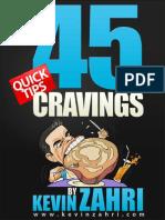 45 Craving Tips