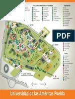 Mapa Campus UDLAP