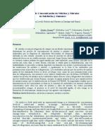 Niveles de Concentración de Nitritos y Nitratos