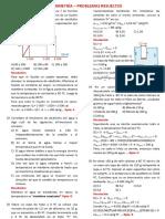 Calorimetria – Problemas Resueltos