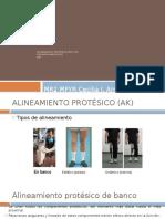 Alineamiento protésico