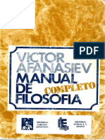 AFANASIEV - Manual de Filosofia