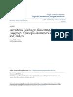 instructional coaching in elementary