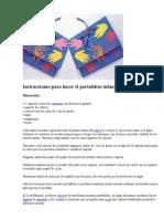 Instrucciones para hacer el portafolios infantil.docx