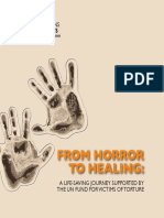 Brochure From Horror to Healing