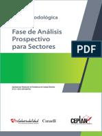 Guia Metodologica - Fase de Analisis Prospectivo Para Sectores