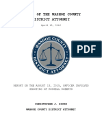 Report on August 13 2015 OIS