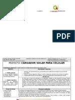 Cargador Solar para telefono movil