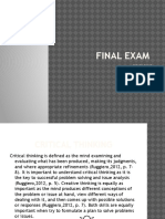 powell assignment - final exam