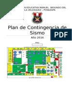 Plan de Contingencia de Sismo