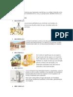 Historia , Tipos y Caracteristicas de La Estructura