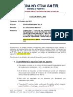 Carta Respuesta Suministro Secador Rotadisco 7 Tph