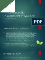 final integration assignment sowk 669