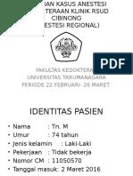 LAPORAN KASUS ANESTESI SPINAL.ppt