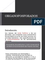 Intoxicación po organofosforados