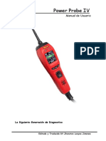 Manual de Power Probe IV español