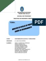 Contaminacion Acustica - Medicion Niveles de Presion