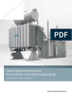 Brochure Shunt and Series Reactors