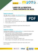 Formulario Practica Educativa Docentes 2015