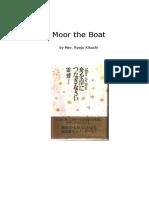 Ryoju Kikuchi Moor the Boat
