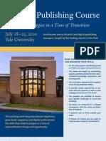 Yale Publishing Course 2010 Brochure