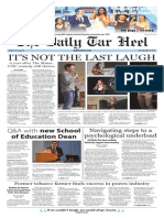 The Daily Tar Heel for April 19, 2016