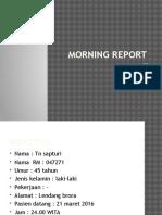Morning Report KLL