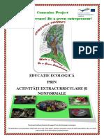 Educatie ecologica prin activitati extracurriculare si nonformale