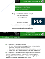 EP7122 Seminario Proyecto 0415 Proyecto